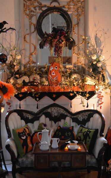 """Leigh Ann Langley, the """"Queen of Halloween,"""" will once again open her beautifully decorated home for a Halloween sponsorship fundraiser for Columbiana Main Street. Tickets are available at Busy Hands Gallery, Davis Drugs or from any Columbiana Main Street Board Member. (Contributed)"""