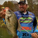 Lee Pitts, a full-time guide who specializes in trips on Alabama's famous crappie spot, Lake Weiss, will serve as one of the instructors for Crappie University. (CONTRIBUTED)