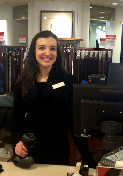 "Kyra Creel has been chronicling her experience in the ""World of Retail"" over the past year. (Contributed)"