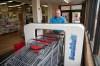Machine sanitizes carts at Calera supermarket