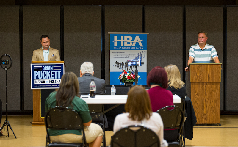 Helena Halloween Events 2020 Helena mayoral candidates face off in debate   Shelby County